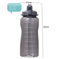 ecofriendlyfitnesswaterbottle, leakproofrecyclablewaterbottle, Fitness, unbreakableoutdoortravelwaterbottle