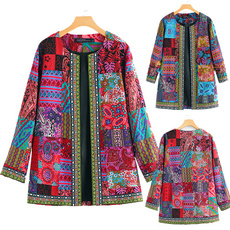 cardigan, Floral print, outweartop, Coat