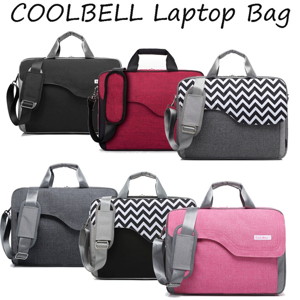 CoolBELL 15.6 Inch Nylon Laptop Bag Shoulder with Strap Multicompartment...