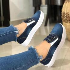Flats, Sneakers, Boat Shoes, denimshoe