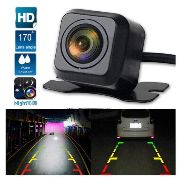 170º CMOS Car Rear View Reverse Backup Parking HD Camera Night Vision Water-proo