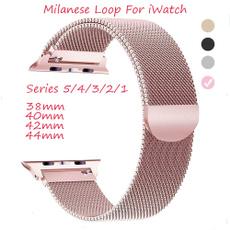 Steel, stainlesssteelband, applewatch, Apple
