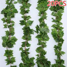 graperattan, Plants, Garland, artificialgrapeleave