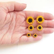 Flowers, simpleearring, Gifts, Stud Earring