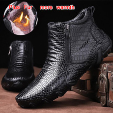 Plus Size, leather shoes, leather, Boots