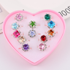 kidsring, crystal ring, Jewelry, Gifts