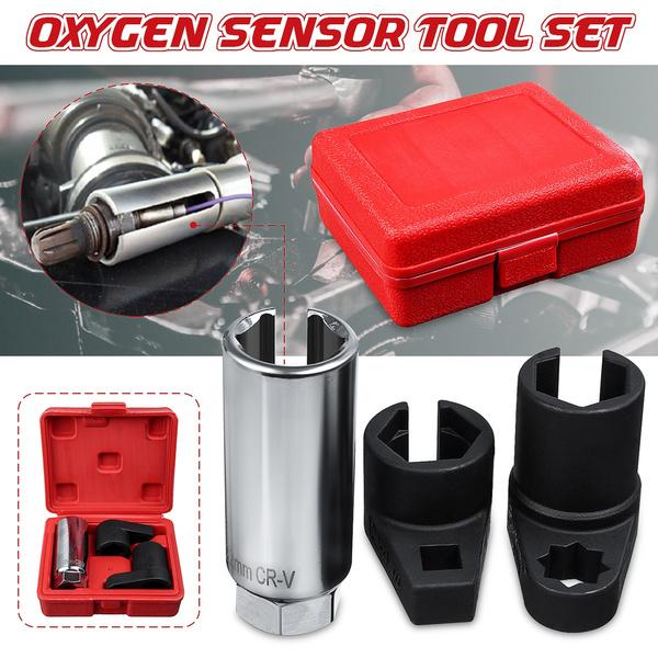 NEW Car Oxygen Sensor 6 Point Socket Wrench O2 Tool Remover Installer Set