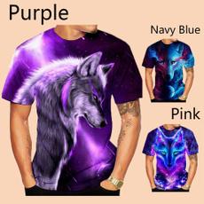 3dwolvesshirt, Fashion, Shirt, Sleeve