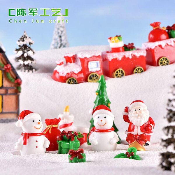 Xmas Santa Box DOLLS HOUSE