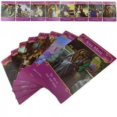 Romance, mysteriou, card game, Angel