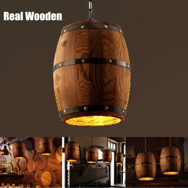 American Style Real Wooden Wine Barrel