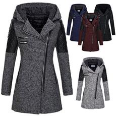 woolen, Plus Size, fur, Winter