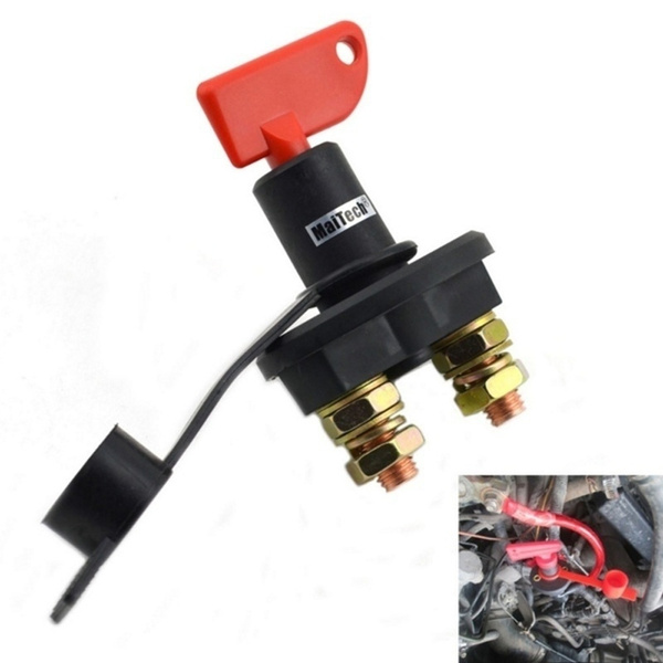 12V//24V Car Truck Boat Battery Isolator Disconnect Cut Off Power Kill Switch