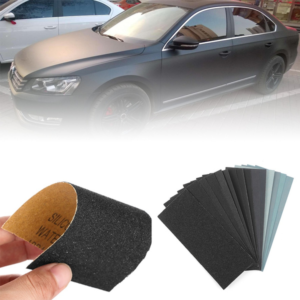 Waterproof Walls Car Paint Woodworking Grinding Polished Tools Wet Dry Sandpaper 150 7000 Grit Abrasive Sanding Paper Sheet