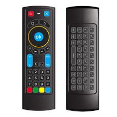 Favormates Air Remote Mouse Mx3 Pro,2.4G Backlit Kodi Remote Control,Mini Wirele