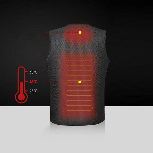 Electric Heated Vest - For Men and Women - Shop-bestdealz