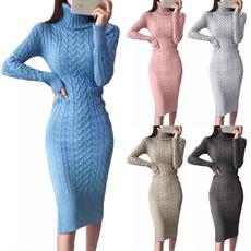 Turtle, Fashion, sweater dress, Winter