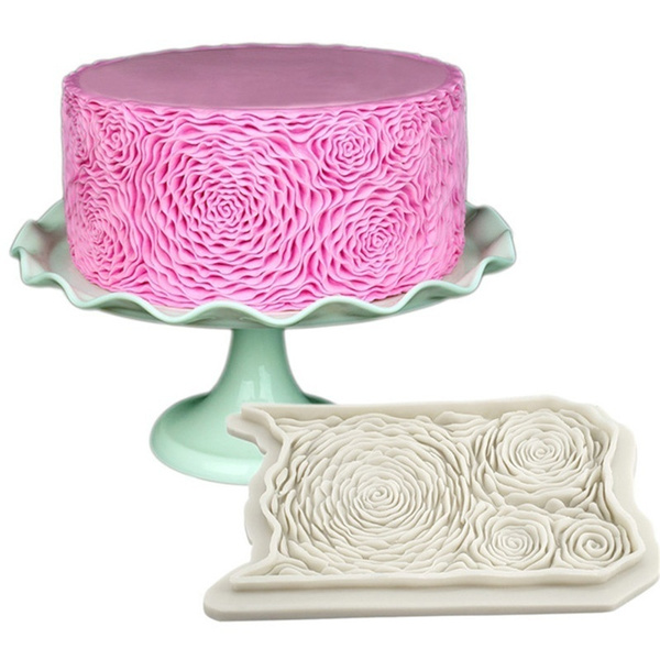 New Fondant Cake Mold Cake Decorating Tools Baking Mold Silicone Baking  Supplies Random color