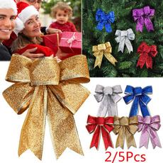 Handmade, christmasbow, gold, Tree