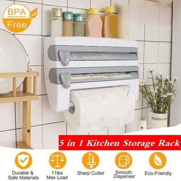 Storage Rack Paper Towel Holder