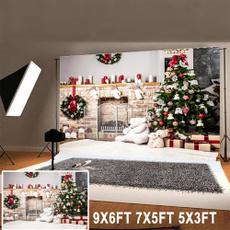 photography backdrops, printed, Christmas, studiobackprop