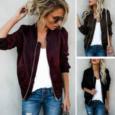 damenjacken, Casual Jackets, bikerjacket, jackets for women