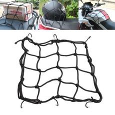 Helmet, cargoluggagerack, motorcyclenetmesh, Luggage