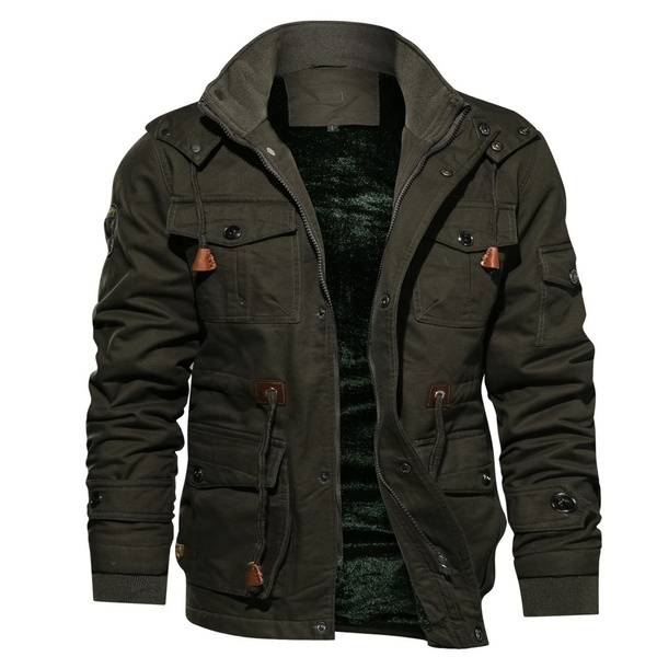 Thickening, Fashion, Cotton, Jacket