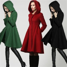 woolen, hoodedcoatsforwomen, Moda, dresscoatsforwomen