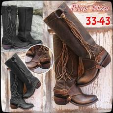 Shoes, Knee High, kneehighshoe, flatsboot