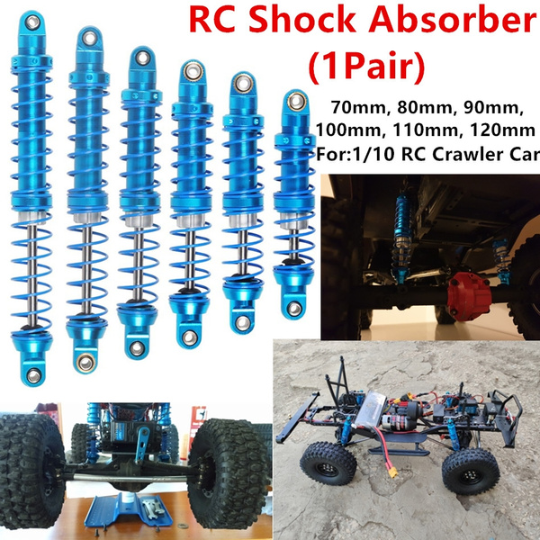 4Pcs 120mm Ajustable Shock Absorber Red for 1//10 RC TRX-4 Wraith SCX10 D90