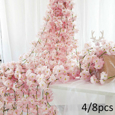 Decor, cherryblossomvine, Christmas, Garland