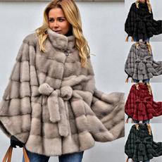 furcoatcoat, fur coat, Bat, Plus Size