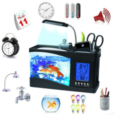 Mini, fishaquarium, led, Home Decor