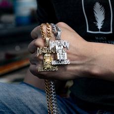 Men, punk necklace, Jewelry, Diamond Necklace