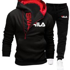 Sport, runningsweatsuit, hoodiesuitformen, gymexercisesuit