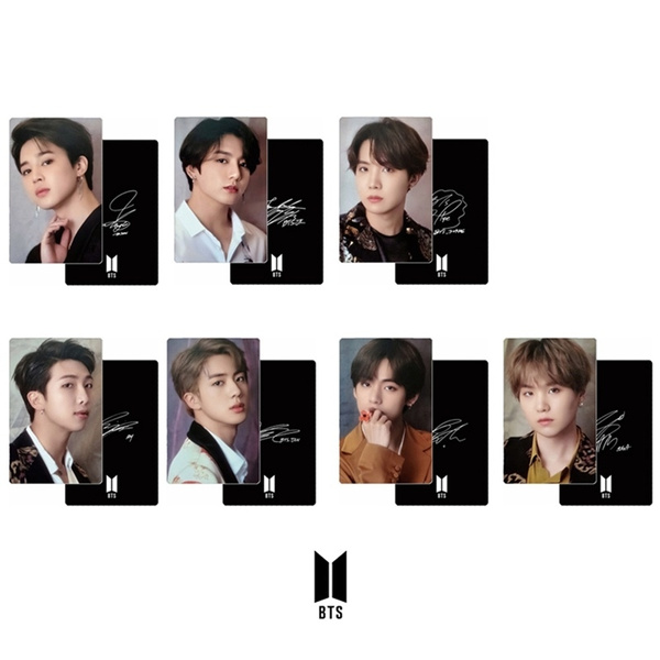 2pcs Set Bts 2019 Summer Package Same Mini Photocards Collective