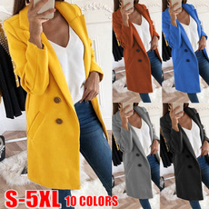woolen, woolen coat, Plus Size, Winter