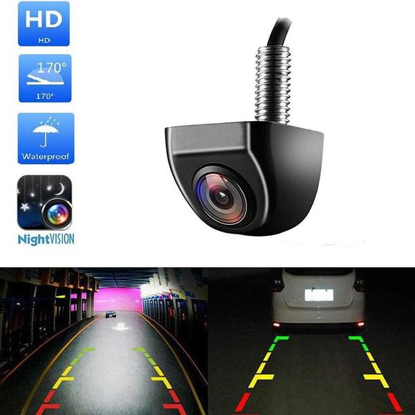 170º CMOS Car Rear View Reverse Backup Parking Waterproof Camera HD Night Vision