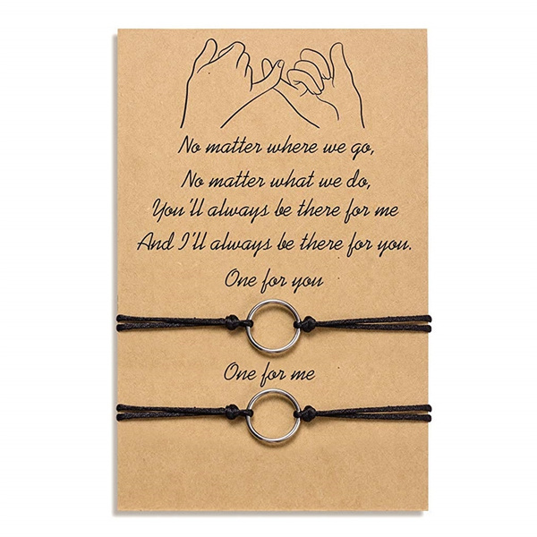 distancebracelet, relationshipbracelet, bracelets for couple, Handmade