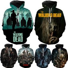 thewalkingdeadseason10, 3dprintsweatshirt, TV, Casual sweater