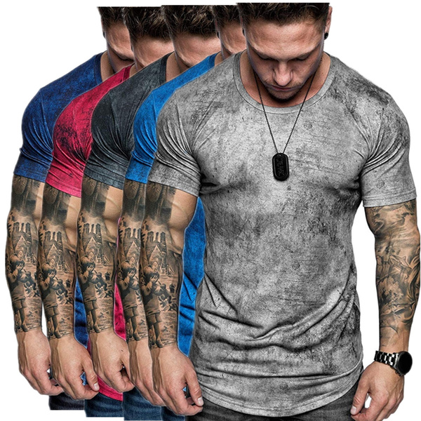 Summer, Men, Shirt, Sleeve