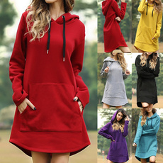 Mini, Plus Size, sweater dress, Sleeve