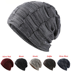 Thicken, Beanie, beanies hat, knitted hat
