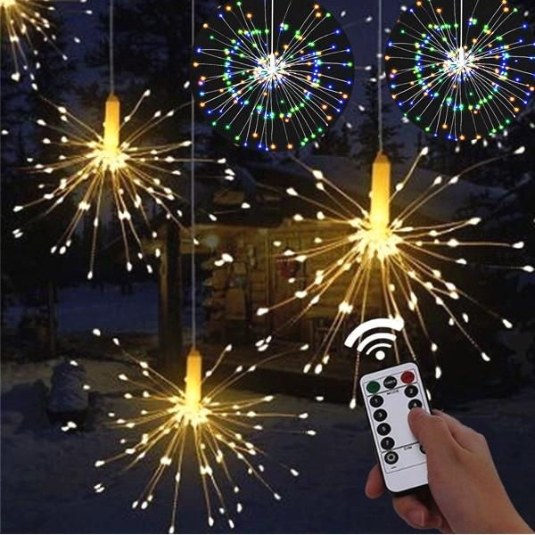 120 LED Firework Lights String Fairy Lights Wedding Xmas party Outdoor Decor