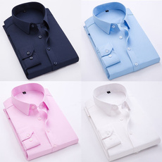 slim fit shirt, Shirt, long sleeved shirt, men clothing