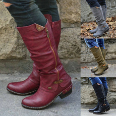 Knee High Boots, Leather Boots, long boots, tallboot