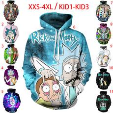 3d sweatshirt men, hooded, Invierno, Ropa