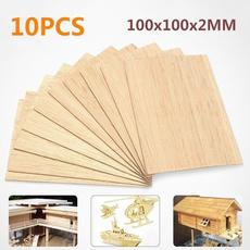 housemodel, woodsheet, Wooden, house