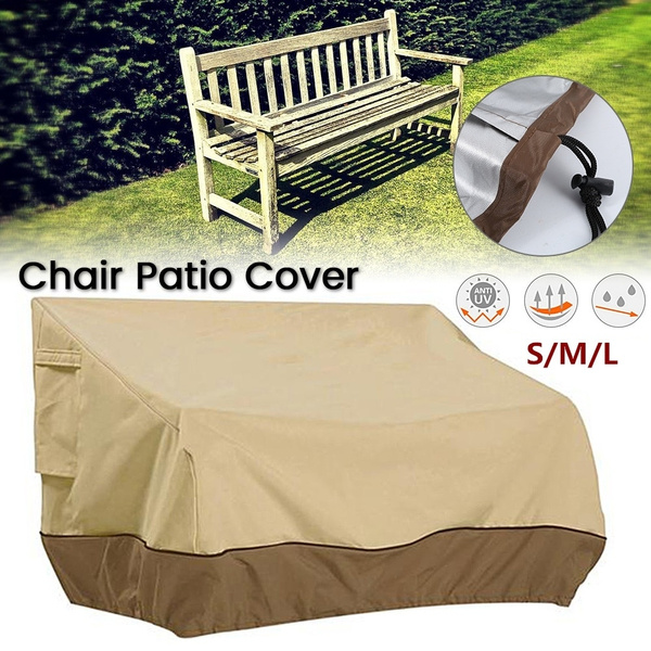 Wondrous 3 Sizes Outdoor Patio Furniture Cover Yard Garden Chair Sofa Waterproof Dust Sunscreen Cover Dailytribune Chair Design For Home Dailytribuneorg
